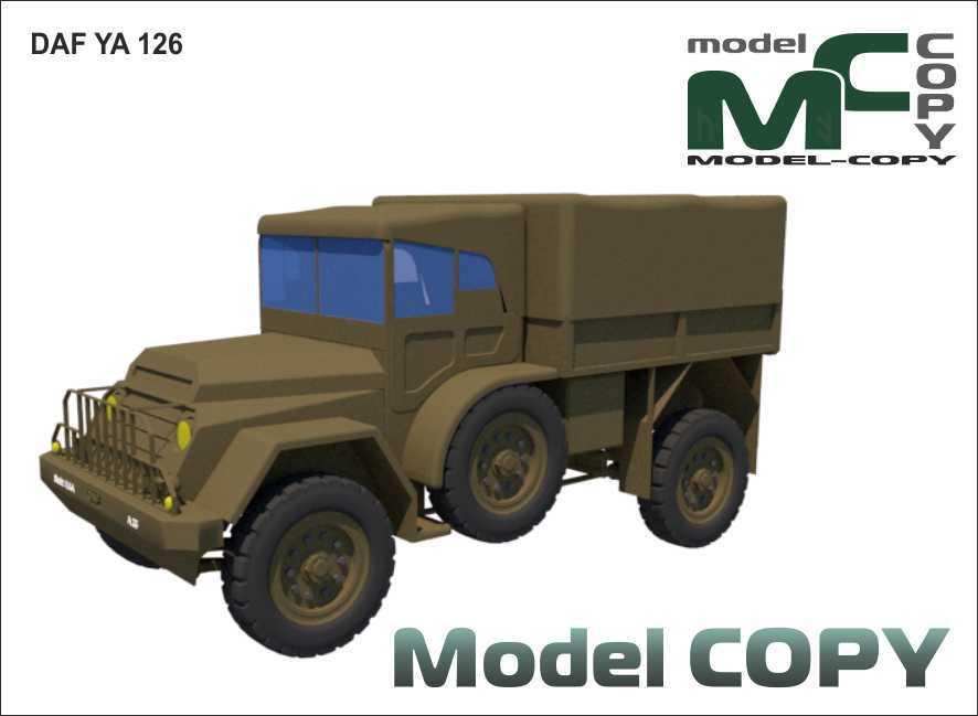 DAF YA 126 - 3D Model