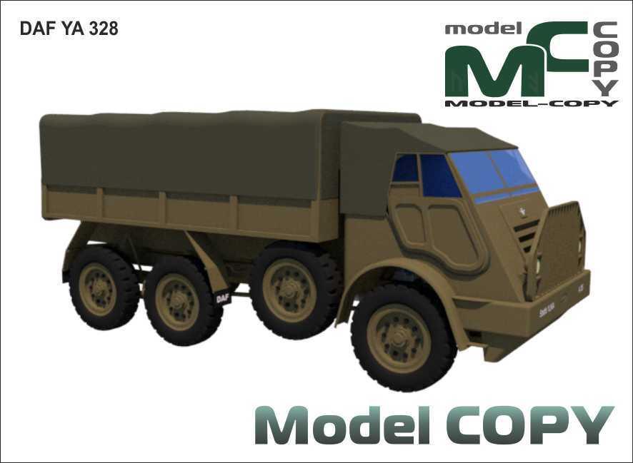DAF YA 328 - 3D Model