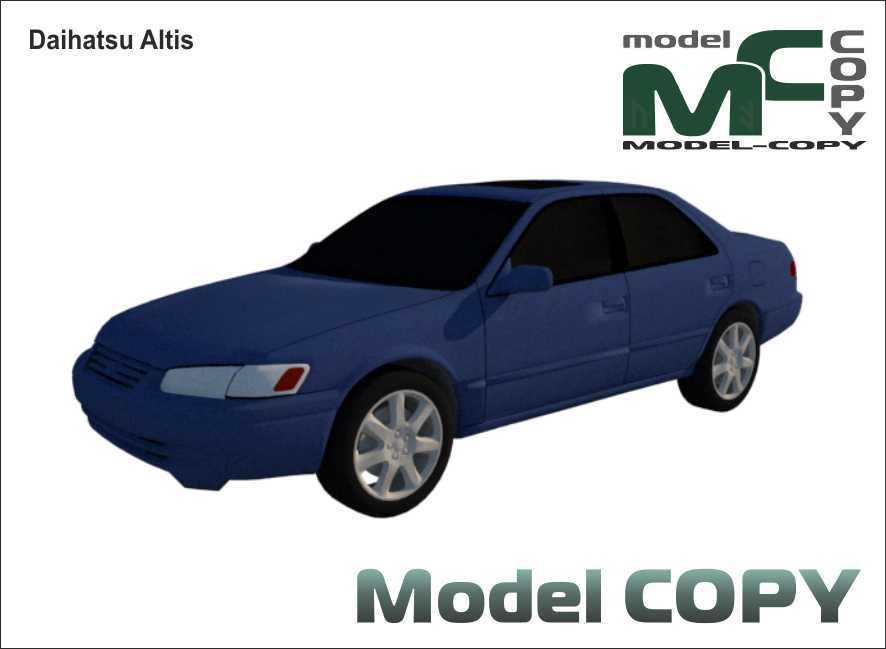 Daihatsu Altis - 3D Model