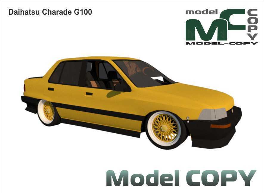 Daihatsu Charade G100 - 3D Model