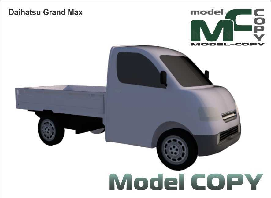 Daihatsu Grand Max - 3D Model