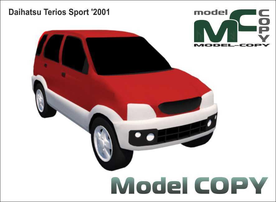 Daihatsu Terios Sport '2001 - 3D Model