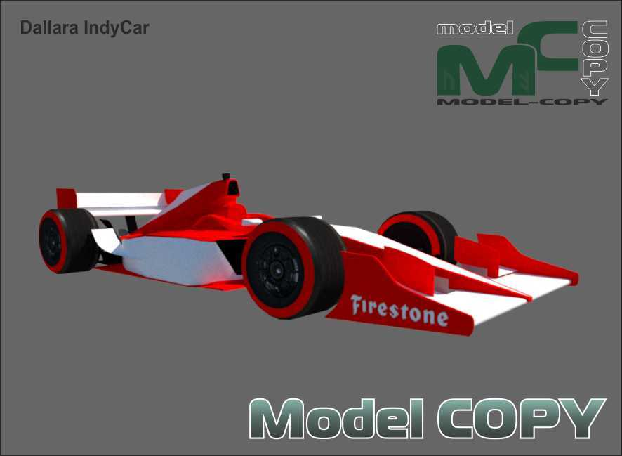 Dallara IndyCar - 3D Model