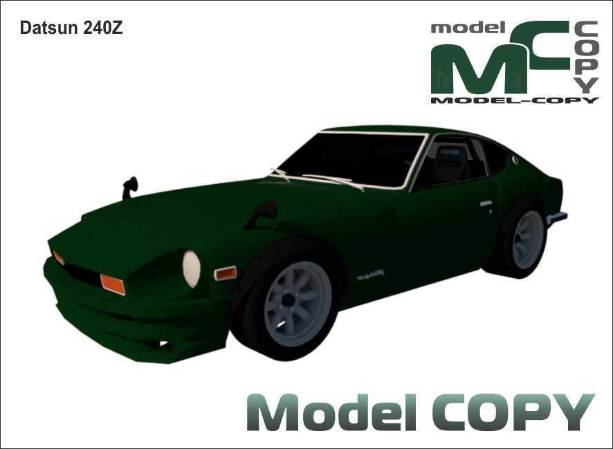 Datsun 240Z - 3D Model
