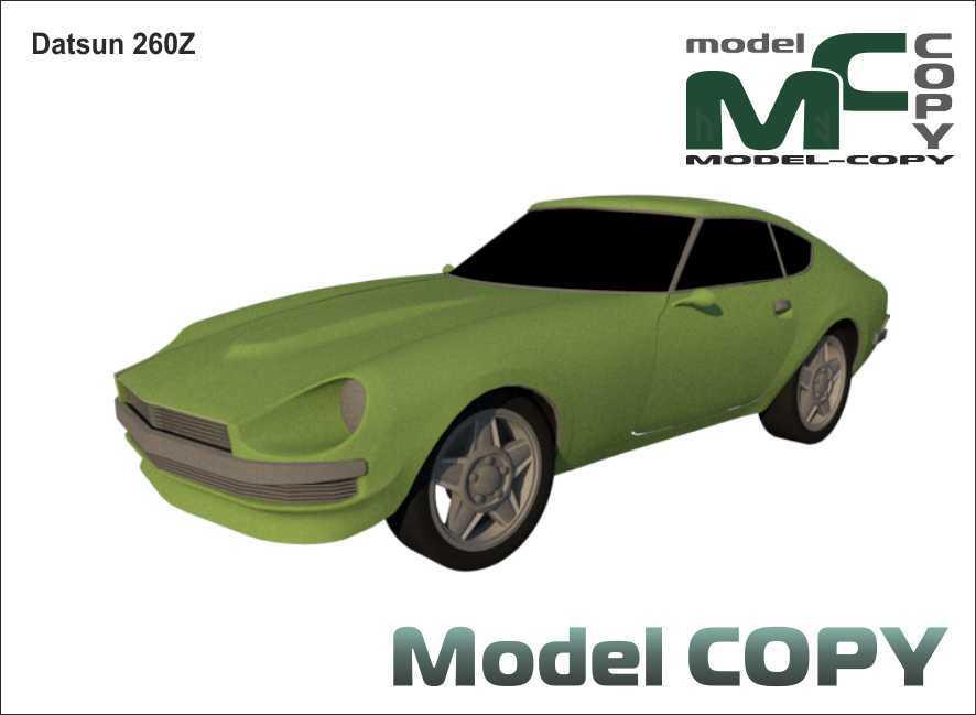 Datsun 260Z - 3D Model