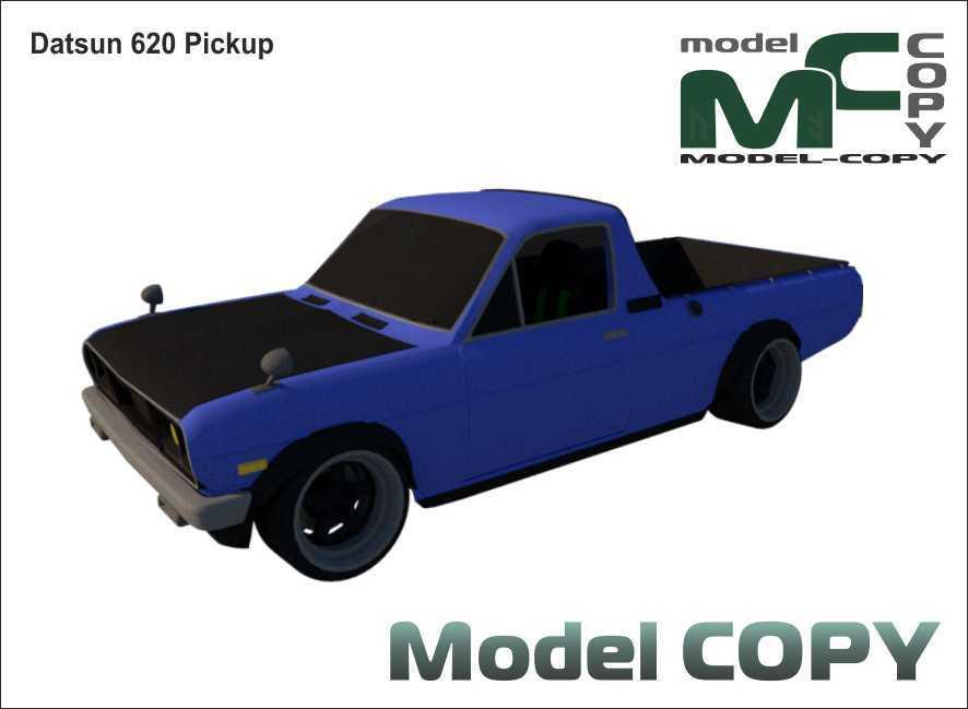 Datsun 620 Pickup - 3D Model