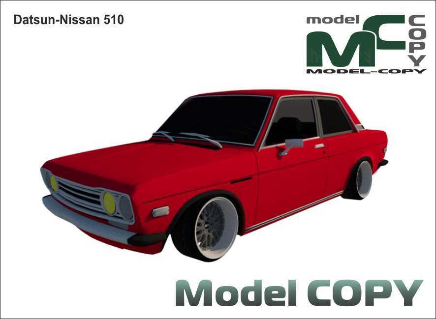 Datsun-Nissan 510 - 3D Model