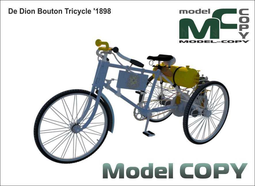 De Dion Bouton Tricycle '1898 - 3D Model