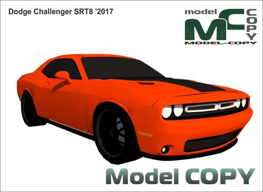 Dodge Challenger SRT8 '2017 - 3D Model