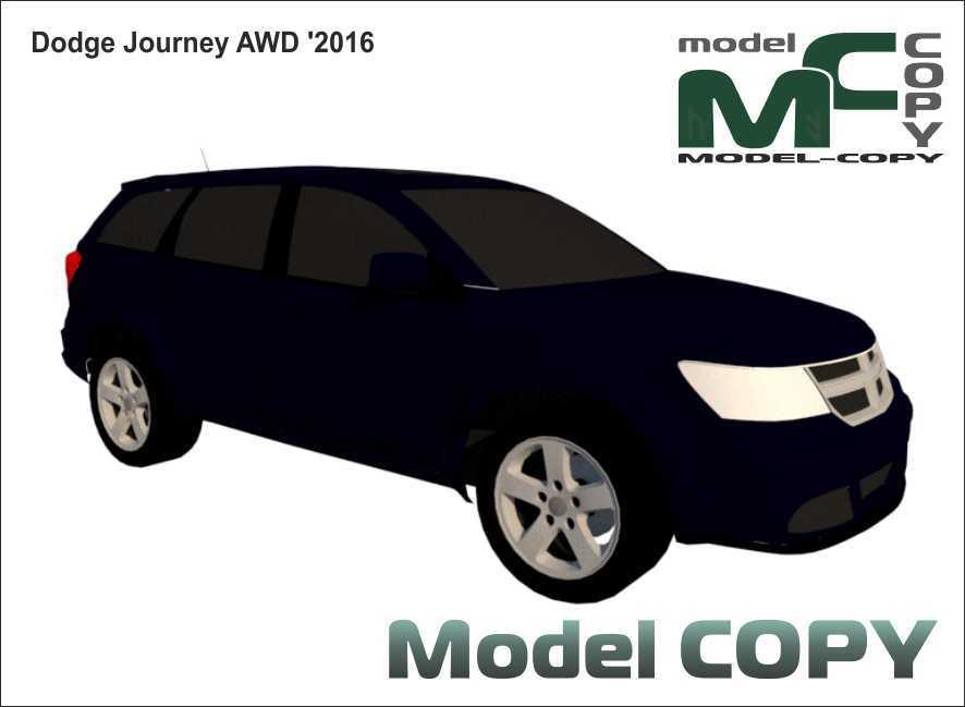 Dodge Journey AWD '2016 - 3D Model