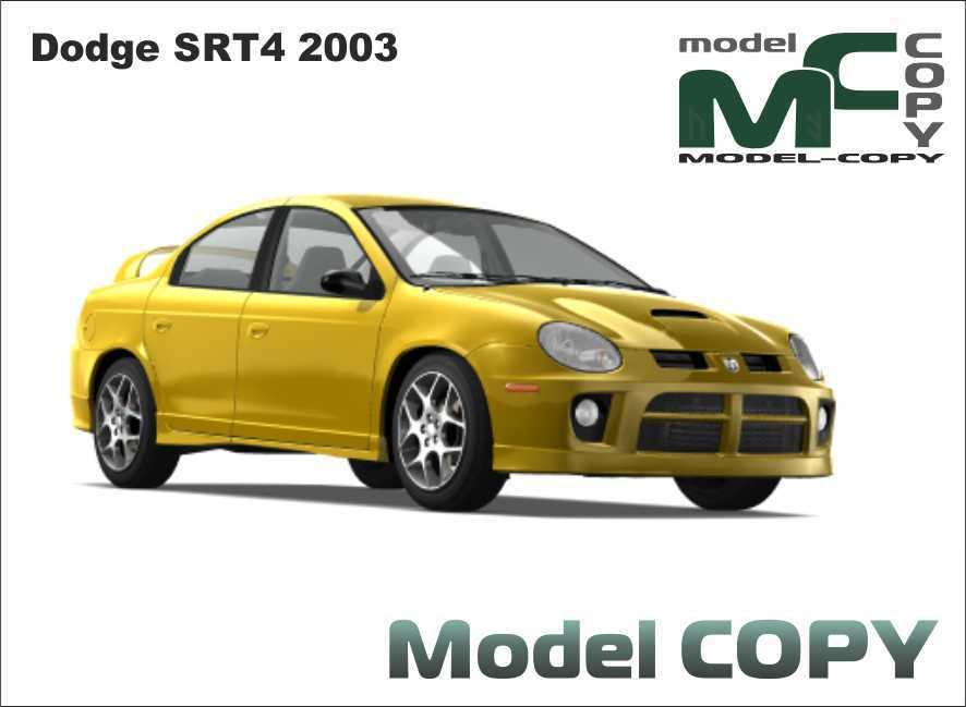 Dodge Srt4 2003 3d Model 18860 Model Copy