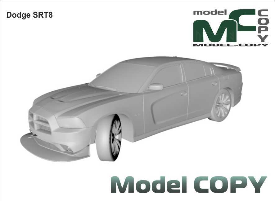 Dodge SRT8 - 3D Model