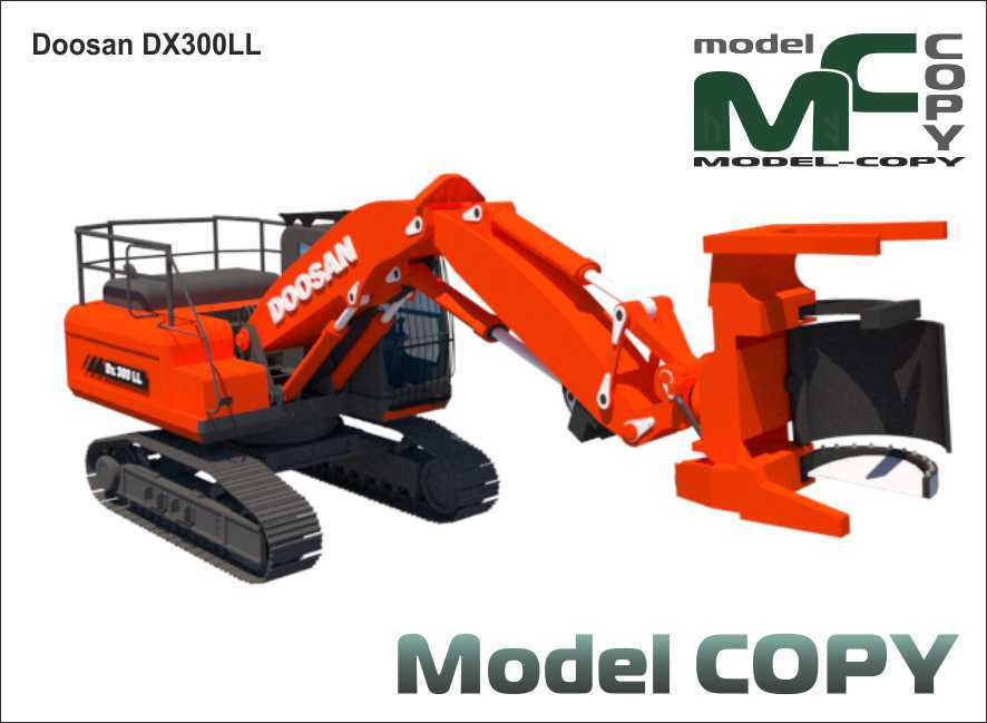 Doosan Dx 300 LL - 3D Model