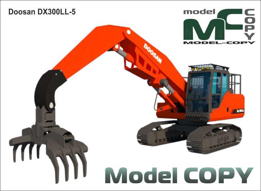 Doosan Dx 300 LL-5 - 3D Model