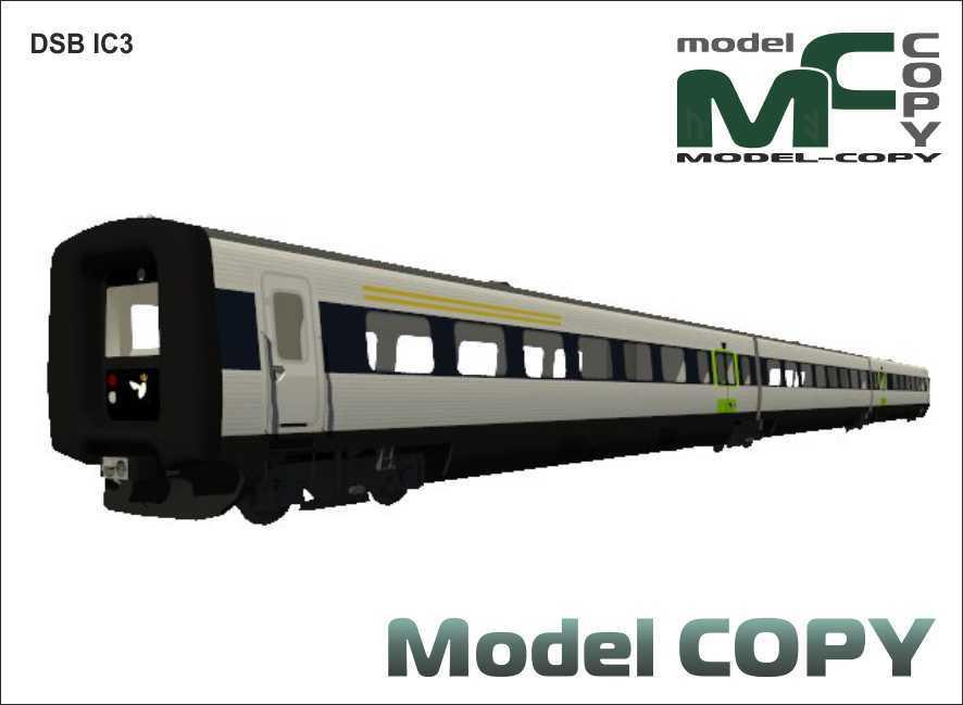 DSB IC3 - 3D Model