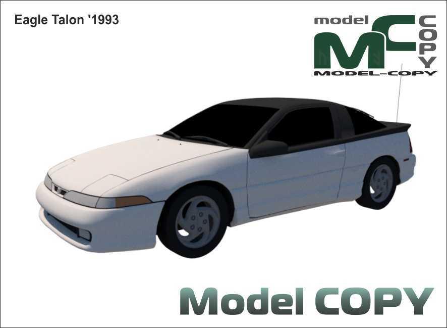 Eagle Talon '1993 - 3D Model