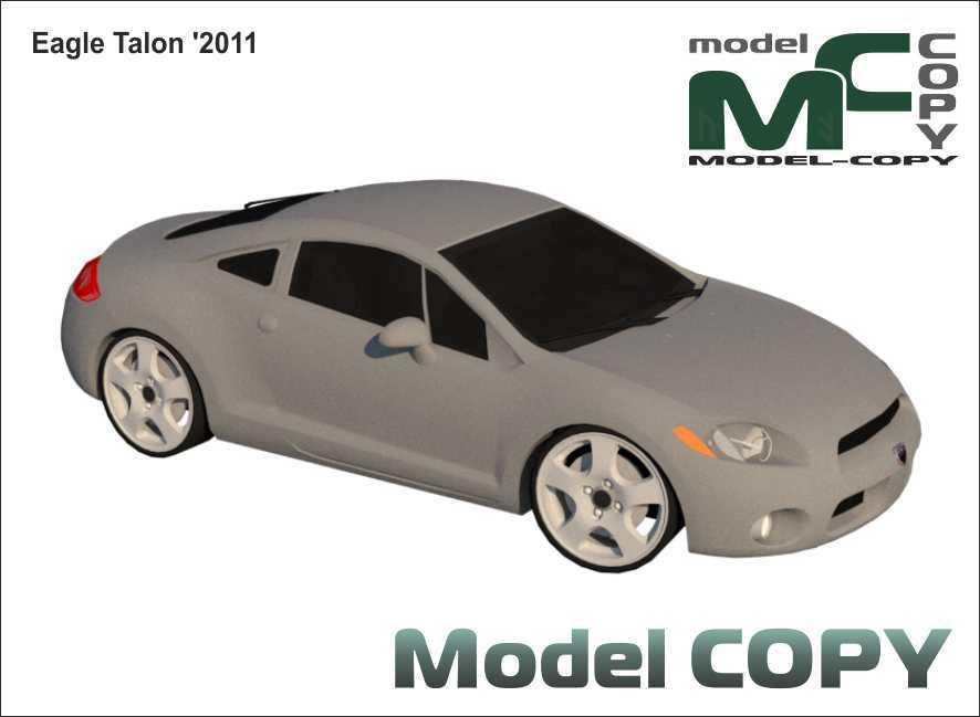Eagle Talon '2011 - 3D Model
