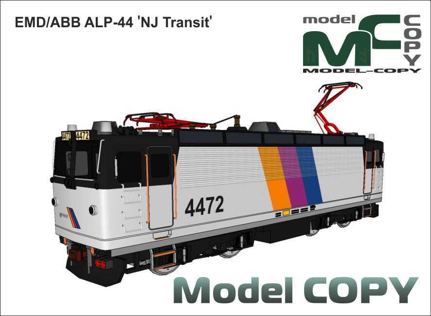 EMD/ABB ALP-44 'NJ Transit' - 3D Model