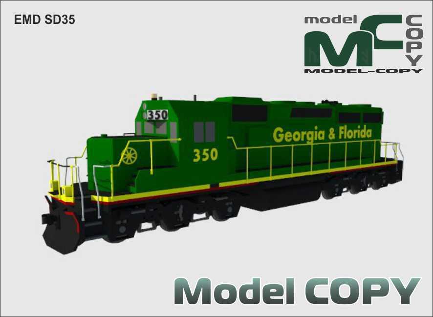 EMD SD35 - 3D Model