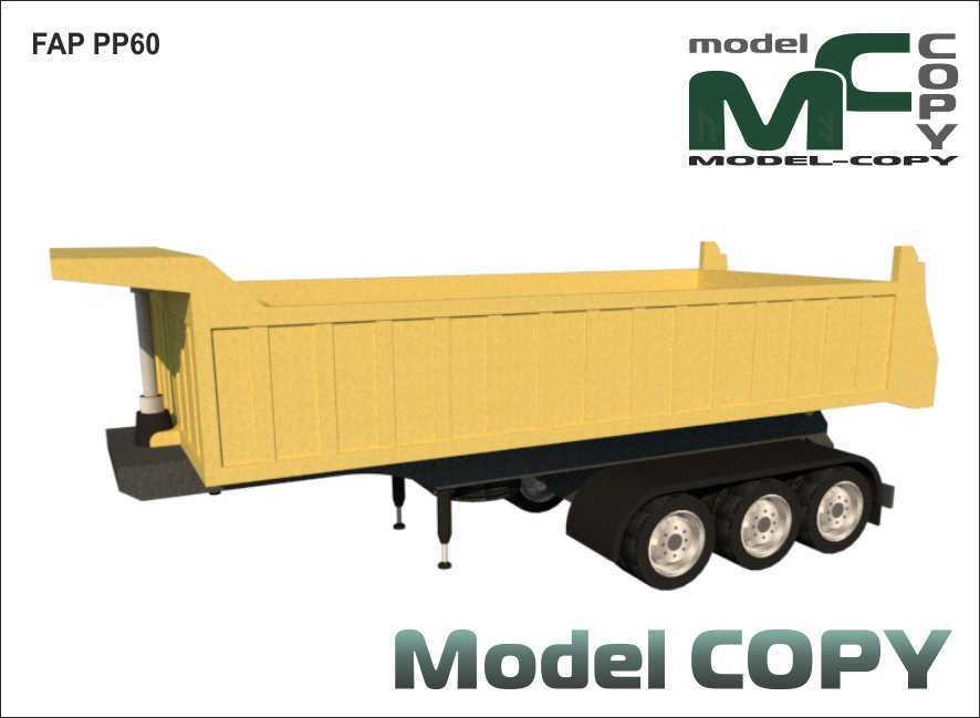 FAP PP60 - 3D Model