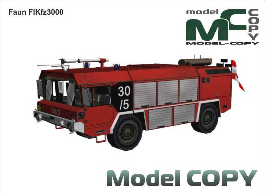 Faun FlKfz3000 - 3D Model