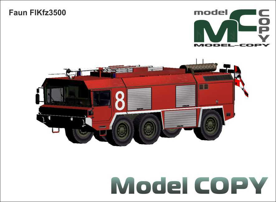 Faun FlKfz3500 - 3D Model