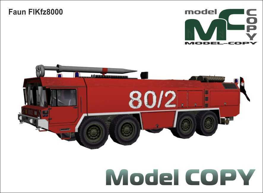 Faun FlKfz8000 - 3D Model
