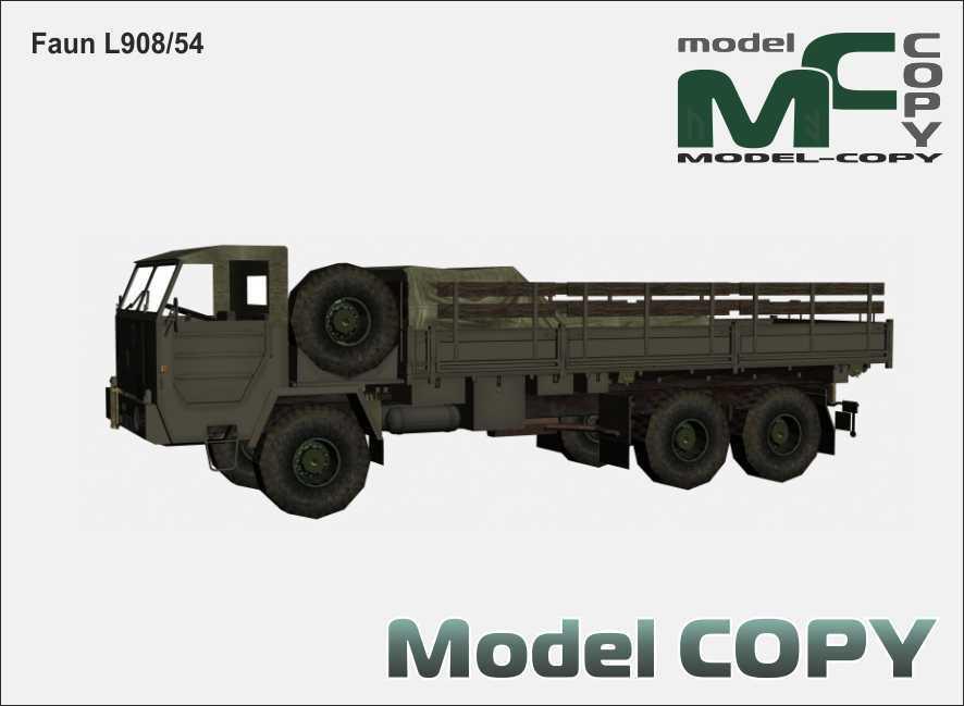Faun L908/54 - 3D Model