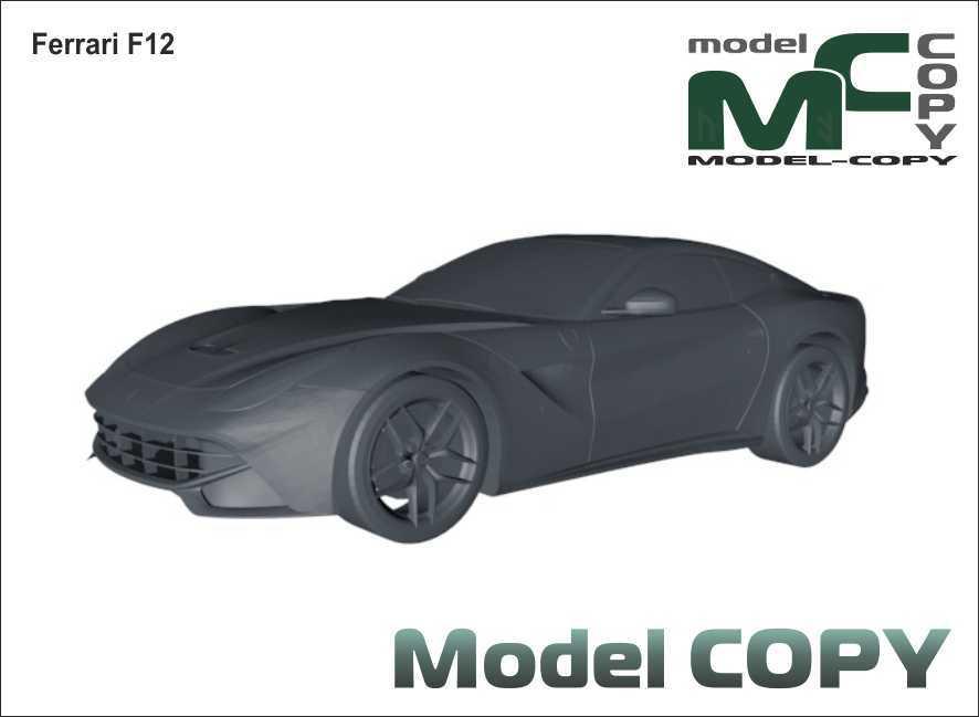 Ferrari F12 - 3D Model