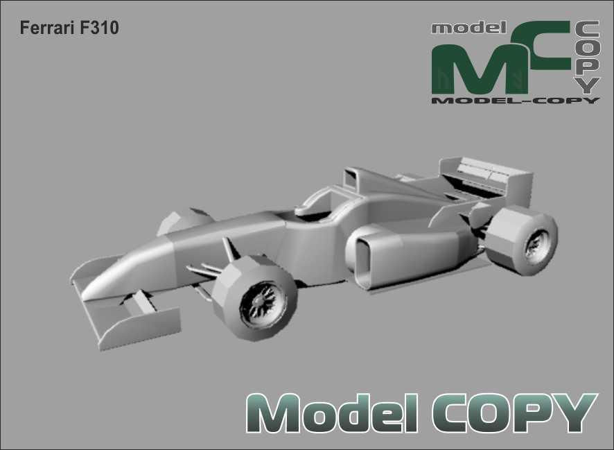 Ferrari F310 - 3D Model