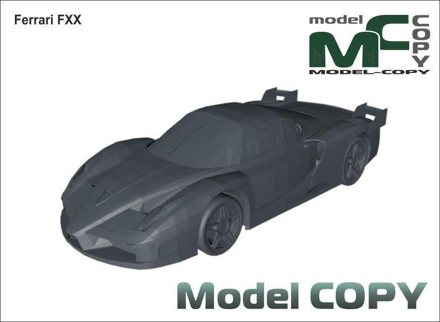 Ferrari FXX - 3D Model