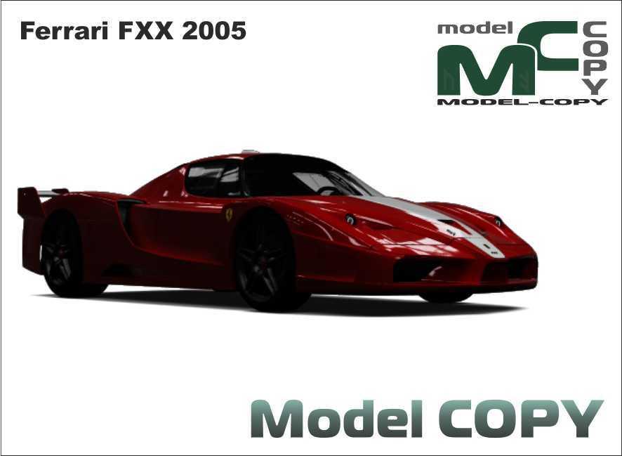 Ferrari FXX 2005 - 3D Model
