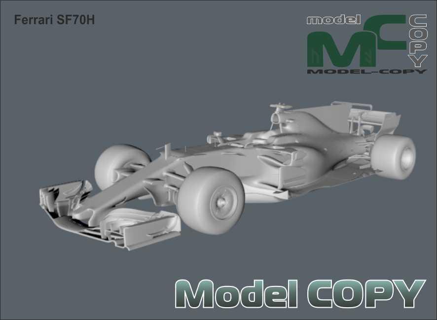 Ferrari SF70H - 3D Model