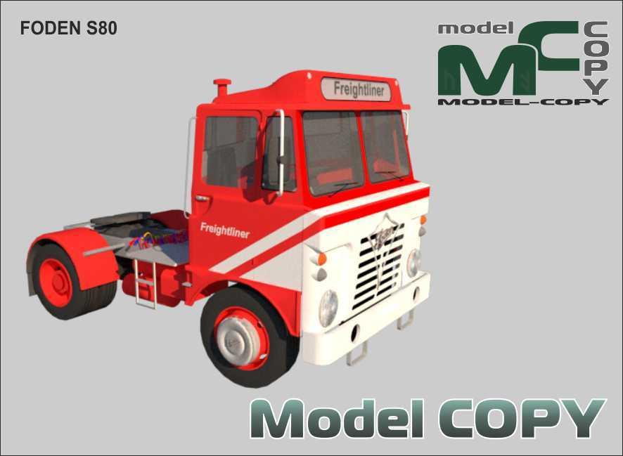 FODEN S80 - 3D Model