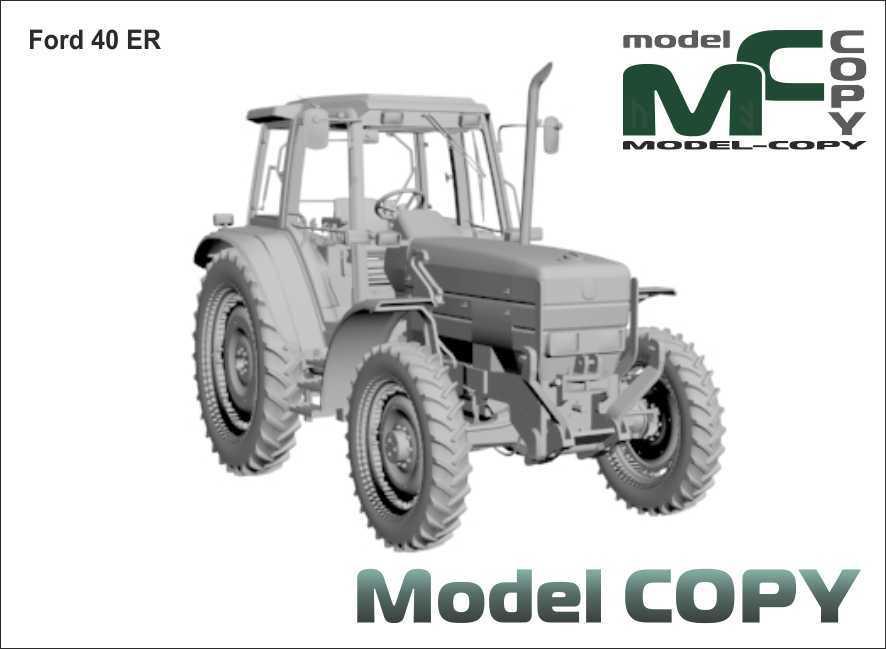 Ford 40 ER - 3D Model