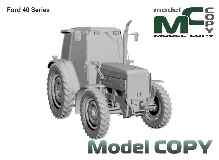 Ford 40 Series - 3D Model