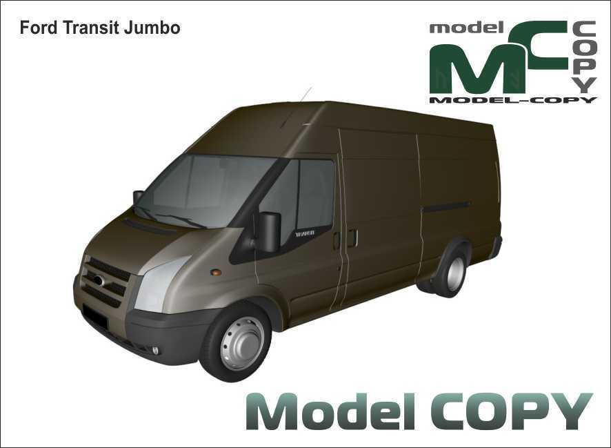 Ford Transit Jumbo - 3D Model
