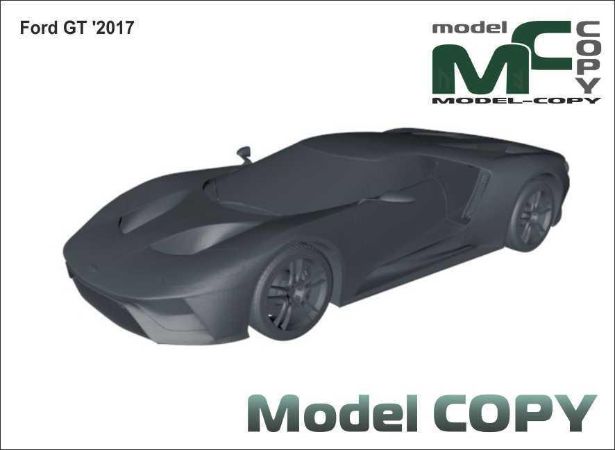 Ford GT '2017 - 3D Model