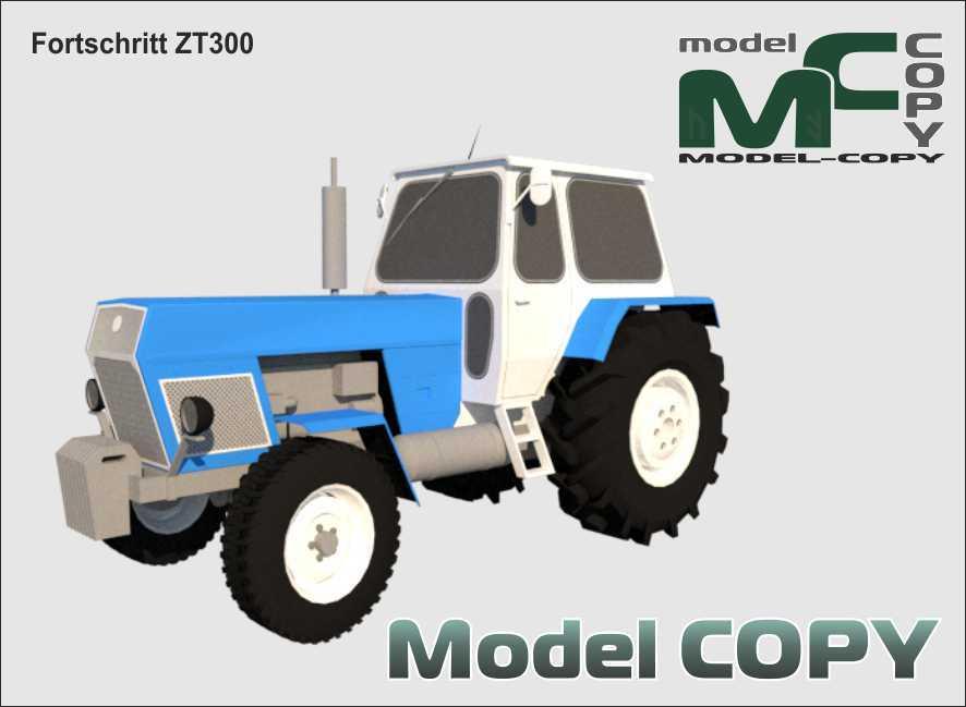 Fortschritt ZT300 - 3D Model
