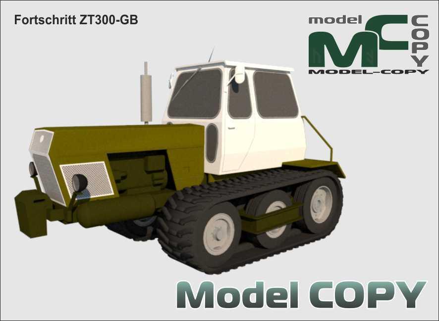 Fortschritt ZT300-GB - 3D Model