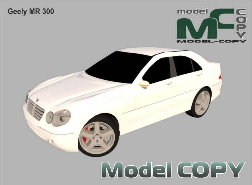 Geely MR 300 - 3D Model