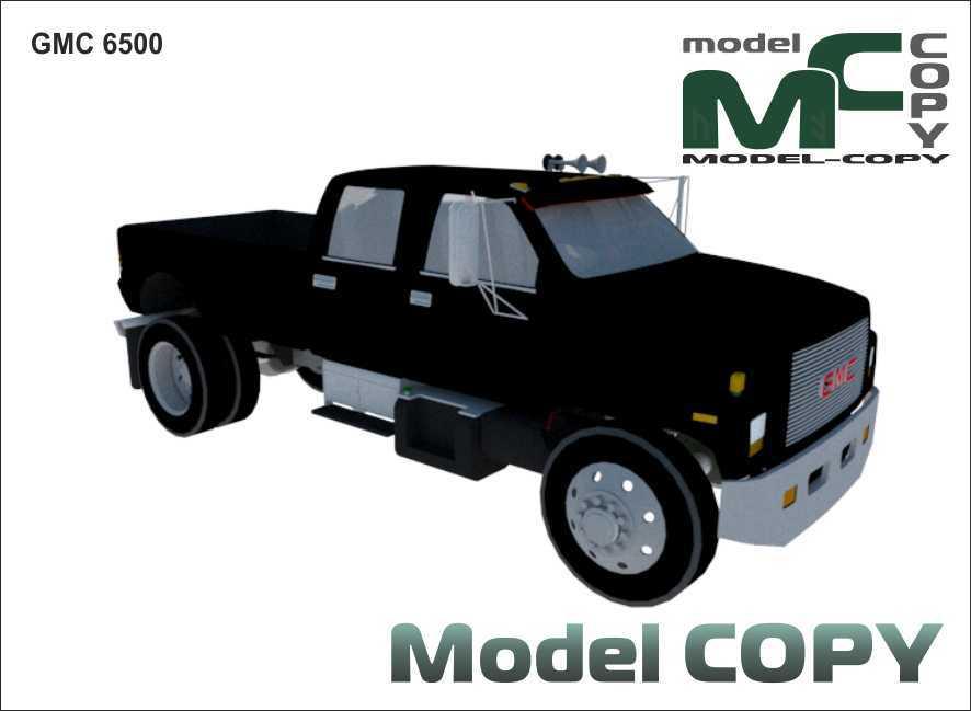 GMC 6500 - 3D Model