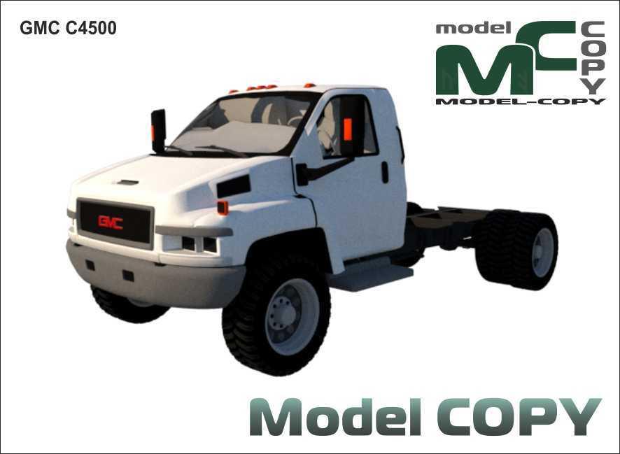 GMC C4500 - 3D Model
