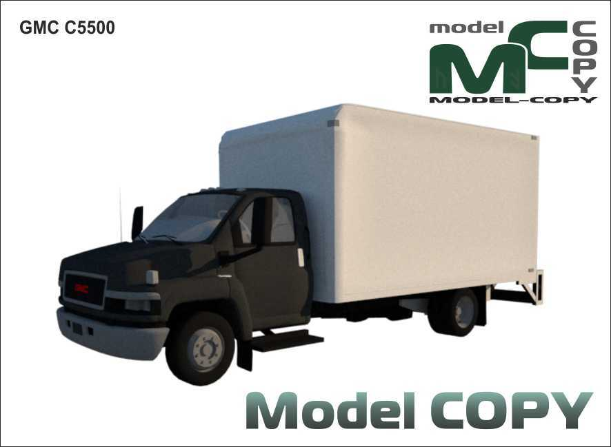 GMC C5500 - 3D Model