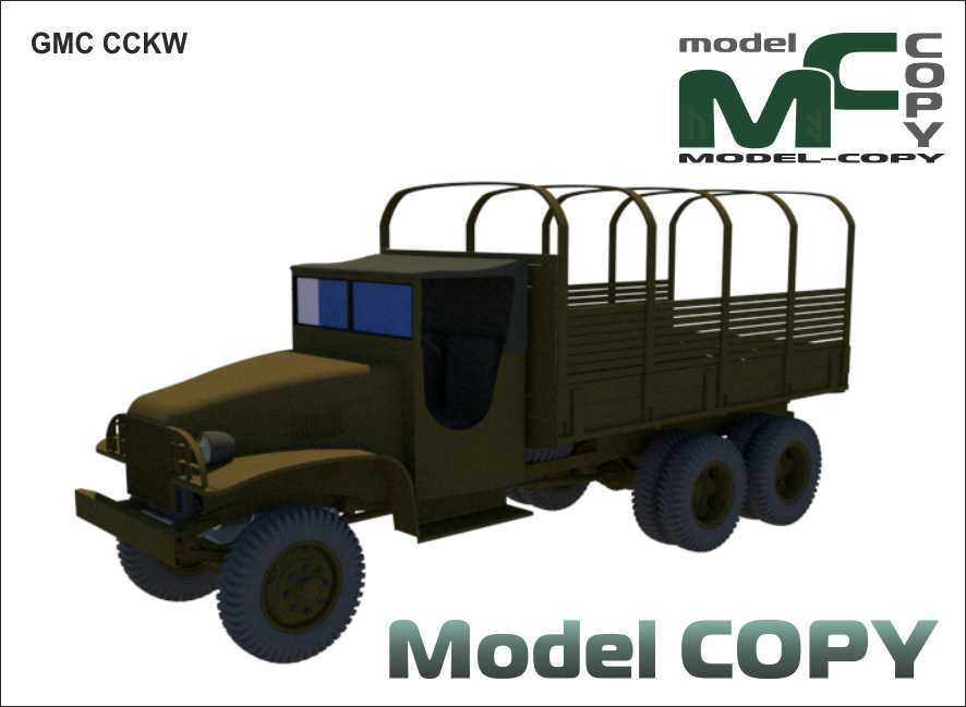 GMC CCKW - 3D Model