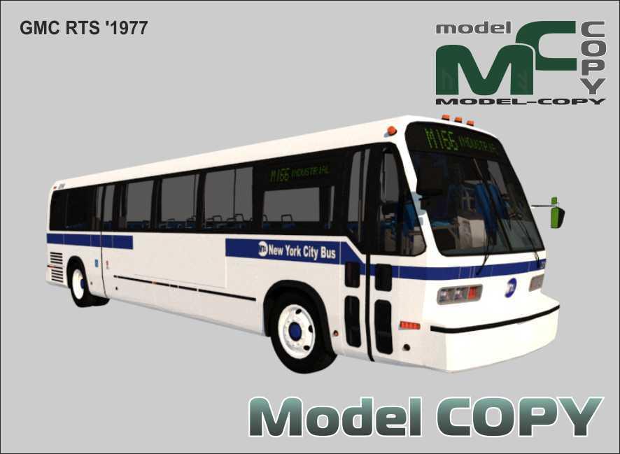 GMC RTS '1977 - 3D Model