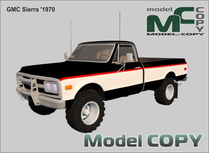 GMC Sierra '1970 - 3D-модель