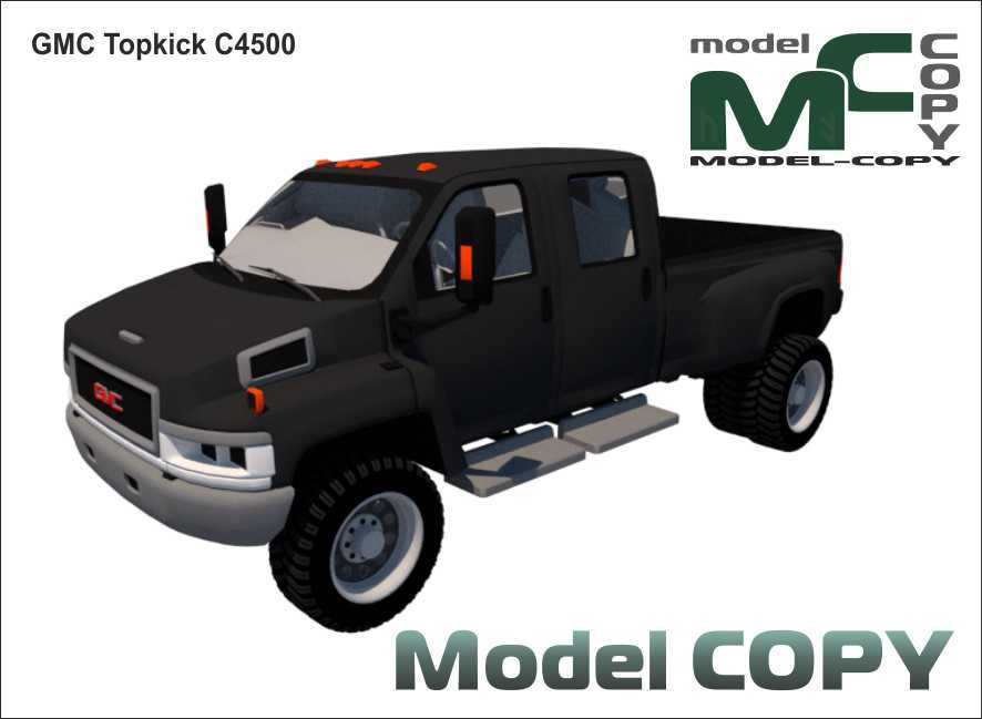 GMC Topkick C4500 - 3Dモデル
