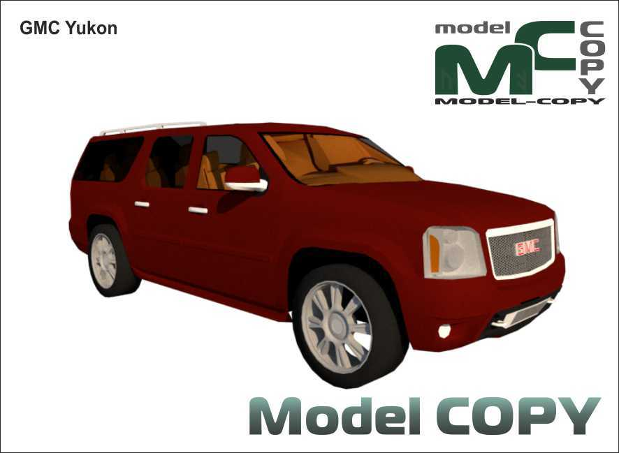 GMC Yukon - 3D-модель