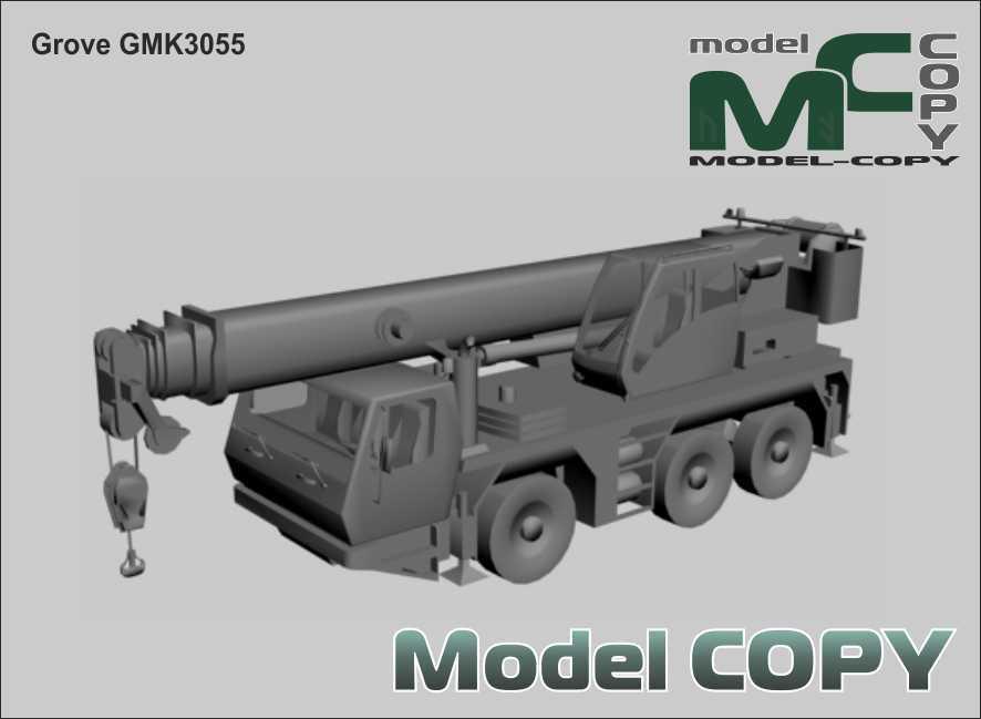 Grove GMK3055 - 3D Model